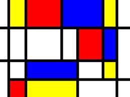 Mondrian picture