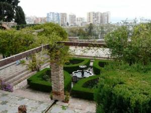 Alcazaba Garden Malaga Four Quadrant Islamic Garden