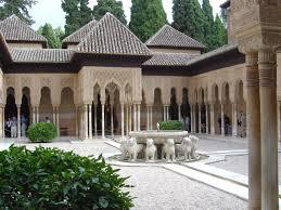 Jardin de los leones Four quadrant Garden Alhambra Spain